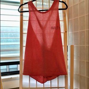 Wildfox Shirt/Tank/Dress Twist T Strap